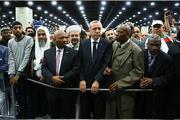 Muhammed Alinin cenaze törenine onbinlerce kişi katıldı