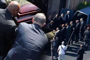Muhammed Alinin cenaze töreninden kareler