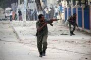 Mogadişuda otele silahlı saldırı