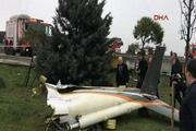 İstanbulda helikopter düştü... Olay yerinden ilk kareler