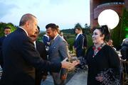 Cumhurbaşkanı Erdoğanın iftar yemeğine ünlü akını