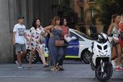 Barcelonada dehşet İlk fotoğraflar...