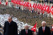 Anıtkabirde 29 Ekim Cumhuriyet Bayramı töreni