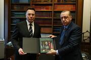 Cumhurbaşkanı Erdoğan-Elon Musk görüşmesinden kareler