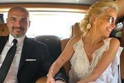 Burcu Esmersoyun nikah töreninden ilk görüntüler
