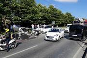 Başakşehirde zincirleme trafik kazası