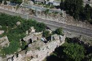 İşte definecilerin talan ettiği 1600 yıllık Bizans Sarayı Bukoleon