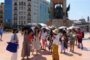 İstanbulda bunaltan sıcak
