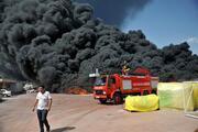 Antalyada köpük fabrikasında yangın
