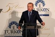 Cumhurbaşkanı Erdoğan TÜRKEN gala yemeğine katıldı