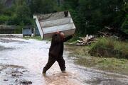 Trabzonda sel gitti, çamur kaldı