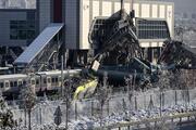 Ankarada tren kazası