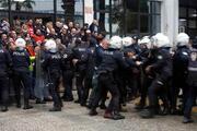 İzmirde, eylem yapmak isteyen işçilere müdahale
