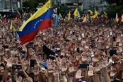 Venezuelada gösteriler