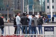 Taksimde meydan kavgası