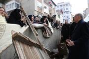 Cumhurbaşkanı Erdoğan Kartal'daki enkaz bölgesinde…