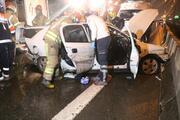 E-5te zincirleme trafik kazası