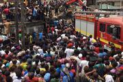 Nijeryada okul binası çöktü