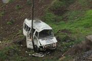 Gaziantepte yolcu minibüsü devrildi: 1 ölü, 15 yaralı