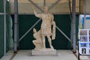 Roma dönemine ait eşi benzeri olmayan 1906 yıllık heykel Laodikya'da bulundu