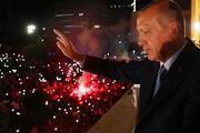 Cumhurbaşkanı Erdoğanın balkon konuşmasından kareler