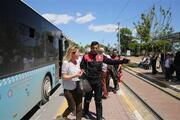 Halk otobüsünde Türklüğe hakaret tartışması karakola taşındı