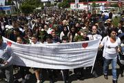 Fransa iki Türk için yürüdü