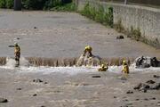 Araklıdaki sel felaketinde kayıp 3 kişi aranıyor