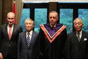 Cumhurbaşkanı Erdoğana Japonyada fahri doktora
