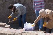 Erzurum'da 'Sultan Alaaddin' yazılı sanduka bulundu