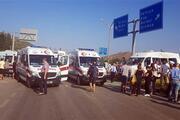 Dalamanda öğrenci servisi ile kamyon çarpıştı