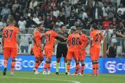 Beşiktaş - Medipol Başakşehir maçından kareler
