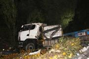 TIRın altında ezilen otomobildeki çift öldü