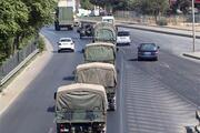 Son dönemlerin en büyük askeri konvoyu Nizipe ulaştı