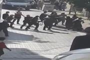 Ataşehirde kemerli kavga kamerada