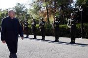 İşte ilk görüntüler Cumhurbaşkanı Erdoğan Suriye sınırında