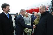 Cumhurbaşkanı Erdoğan Macaristana geldi