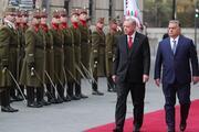 Cumhurbaşkanı Erdoğan Macaristanda