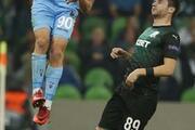 Krasnodar - Trabzonspor maçından kareler...