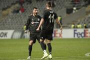 Braga - Beşiktaş maçından kareler...