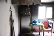 Evi yanan 3 çocuk annesi gözyaşlarına boğuldu