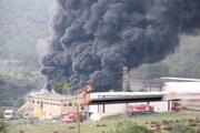 İzmirde plastik geri dönüşüm deposunda yangın