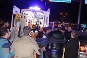 Karamanda yön levhasına çarpan otomobilin sürücüsü öldü