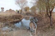 Eber Gölünde su günden güne azalıyor