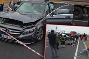 Aksarayda cenaze yolunda kaza: 1 ölü, 3 yaralı