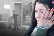 Antalyada bir kadın tahliye kararı çıkarılan iş yerindeki eşyalara zarar verdi