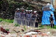 Uzungölde kaçak yapıların yıkımına başlandı