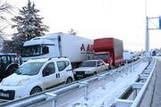 Burdur - Antalya karayolunda 5 kilometrelik araç kuyruğu