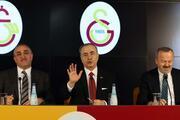 Galatasaray Kulübü Başkanı Mustafa Cengiz basın toplantısı düzenledi