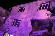 Elazığdaki 6.8 büyüklüğündeki deprem sonrası ilk fotoğraflar